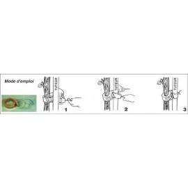 COLLIER TOLTEX 60 cm fil fer