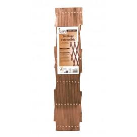 TREILLAGE EXTENSIBLE BOIS - EXOTIQU 0.60x1.80m